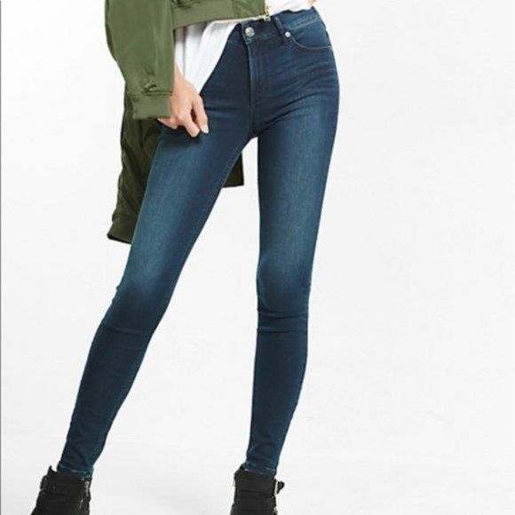 Express Supersoft High Rise Legging Jeans